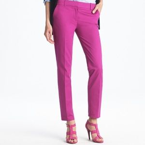 Cute magenta Capri pants